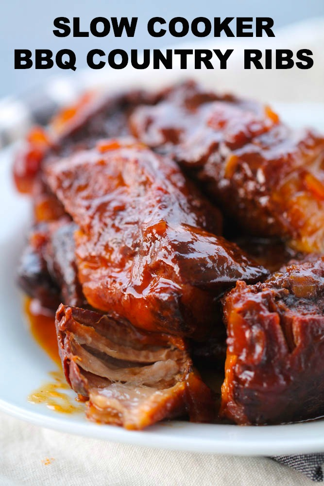 Slow Cooker Bbq Country Style Ribs Six Sisters Stuff,Easy Swedish Meatball Recipe