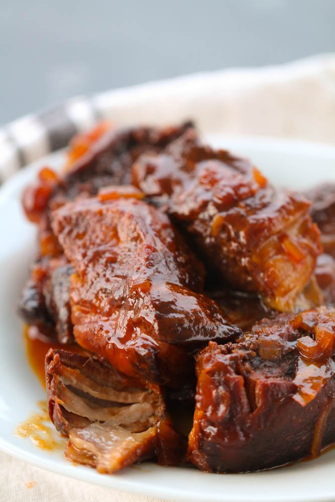 Slow Cooker BBQ Country Style Ribs