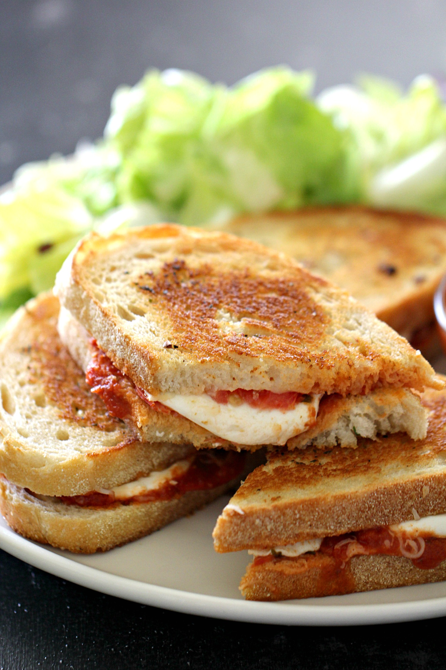 Pepperoni Pizza Grilled Cheese Sandwiches Recipe