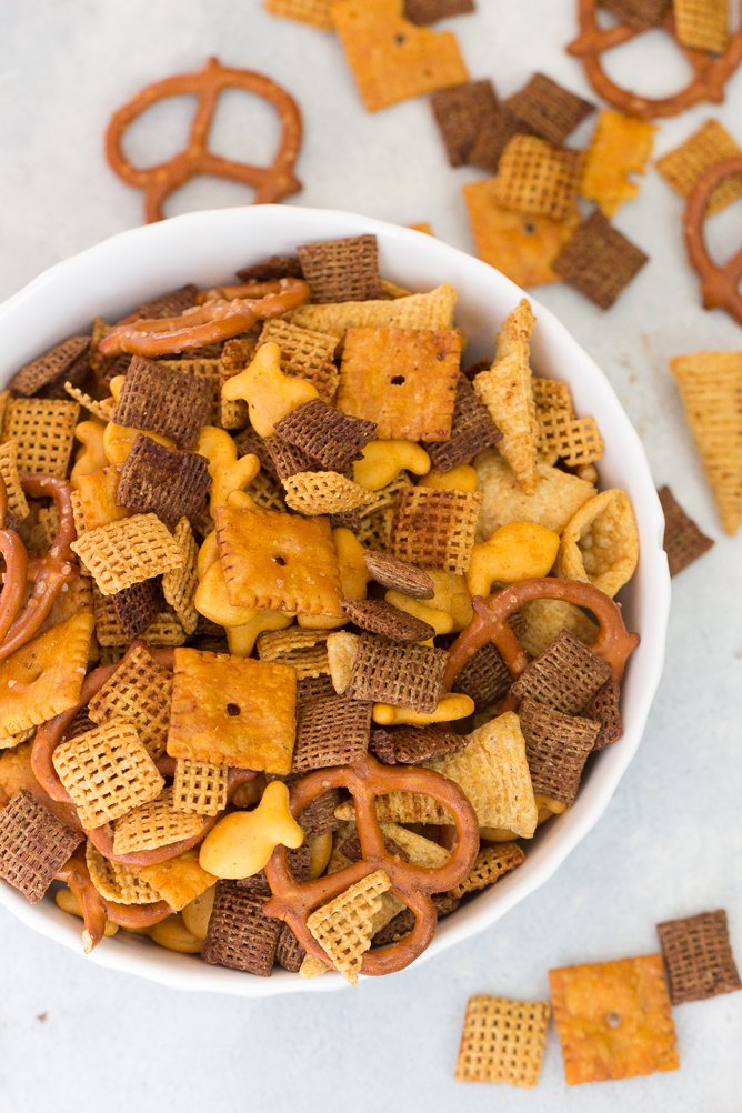 Smoky Cheddar Chex™ Party Mix