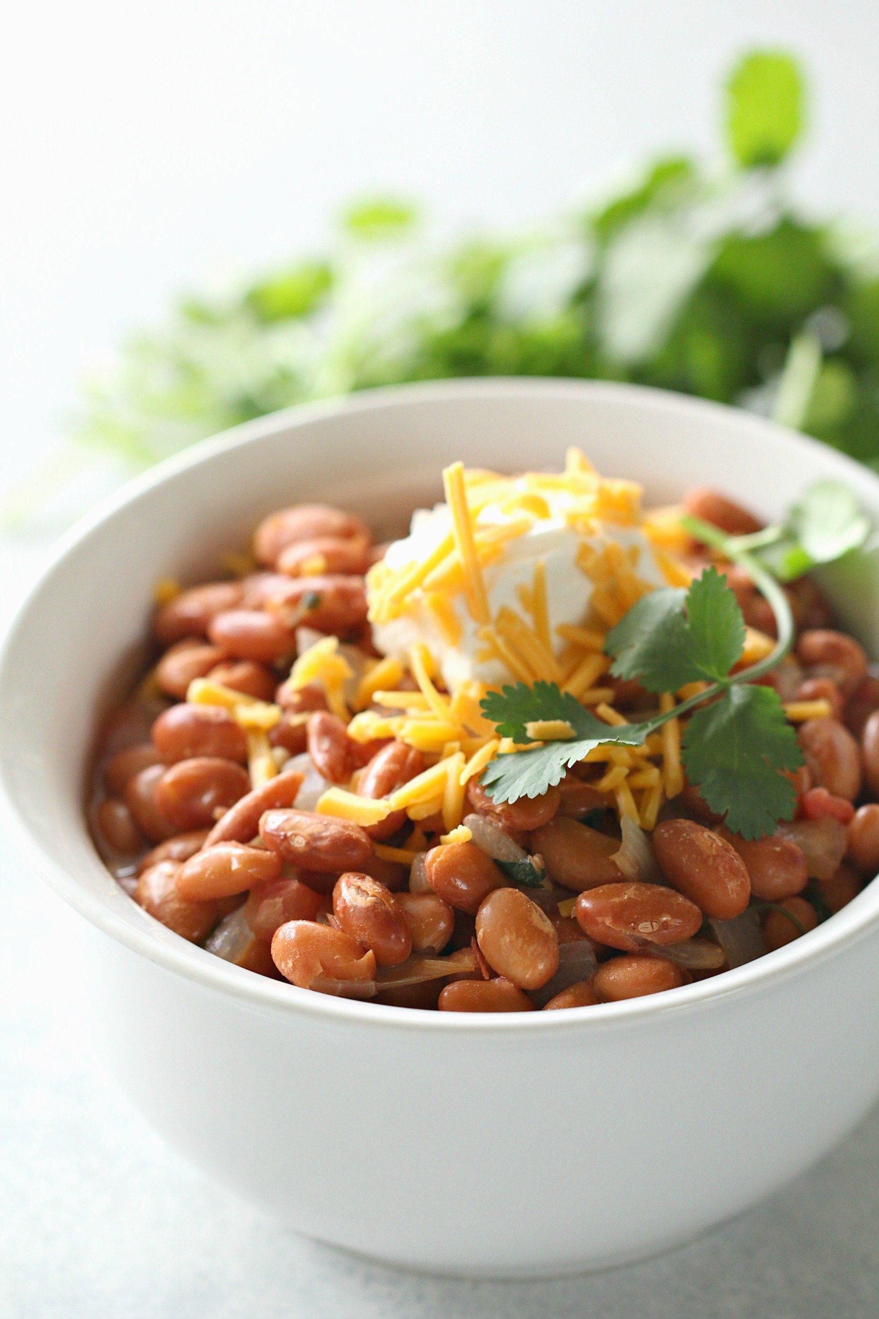 Easy Texas Pinto Beans