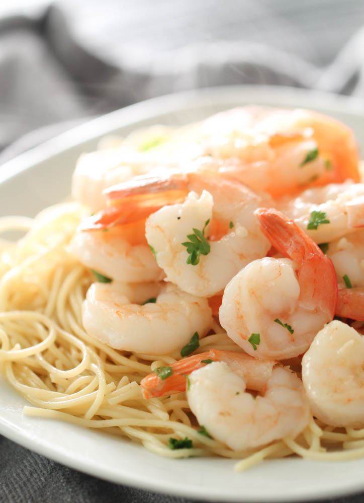 Easy Lemon Garlic Shrimp