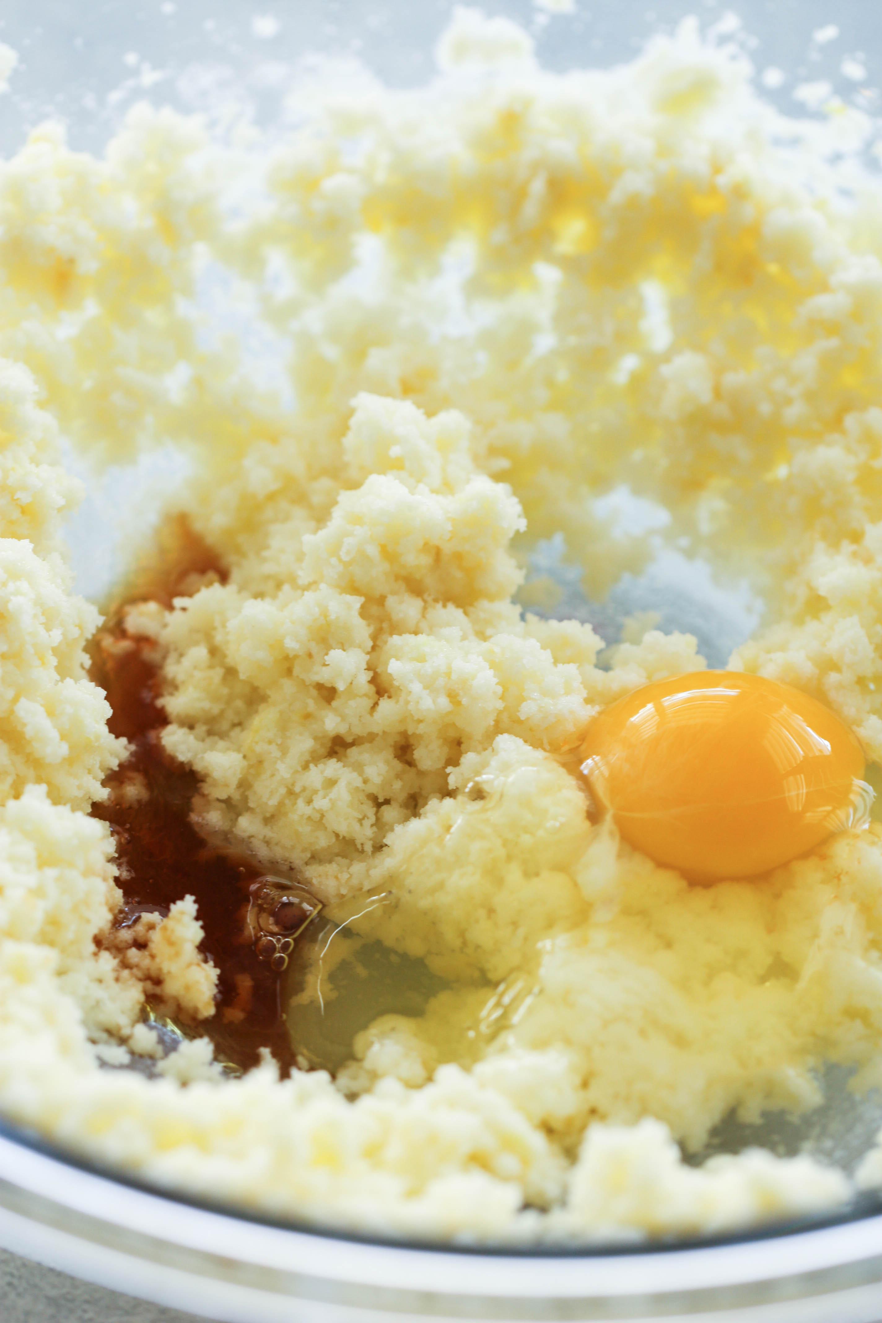 Lemon Blueberry Breakfast Cake