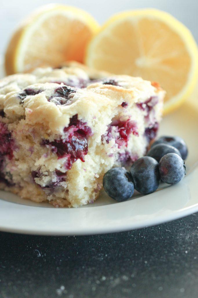 Lemon Blueberry Breakfast Cake Six Sisters Stuff
