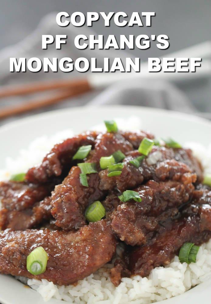 Copycat P.F. Chang's Mongolian Beef Recipe