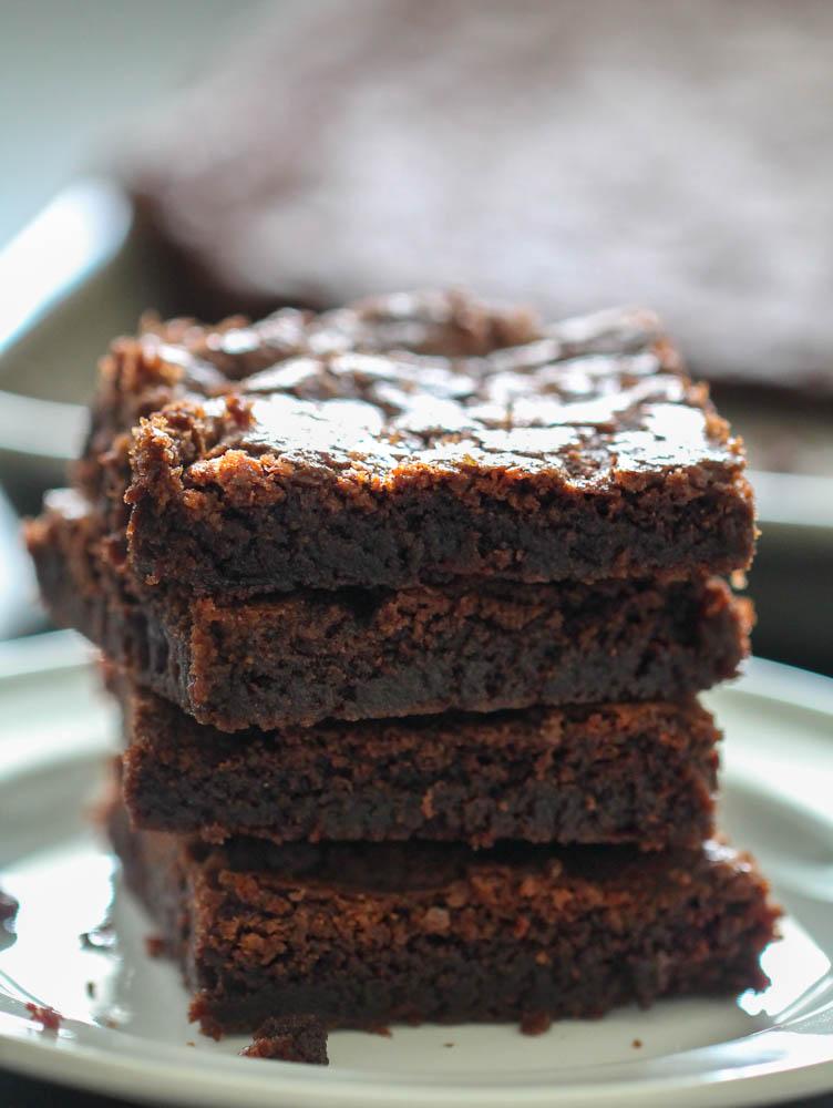 Sheet Pan Fudgy Brownies Recipe