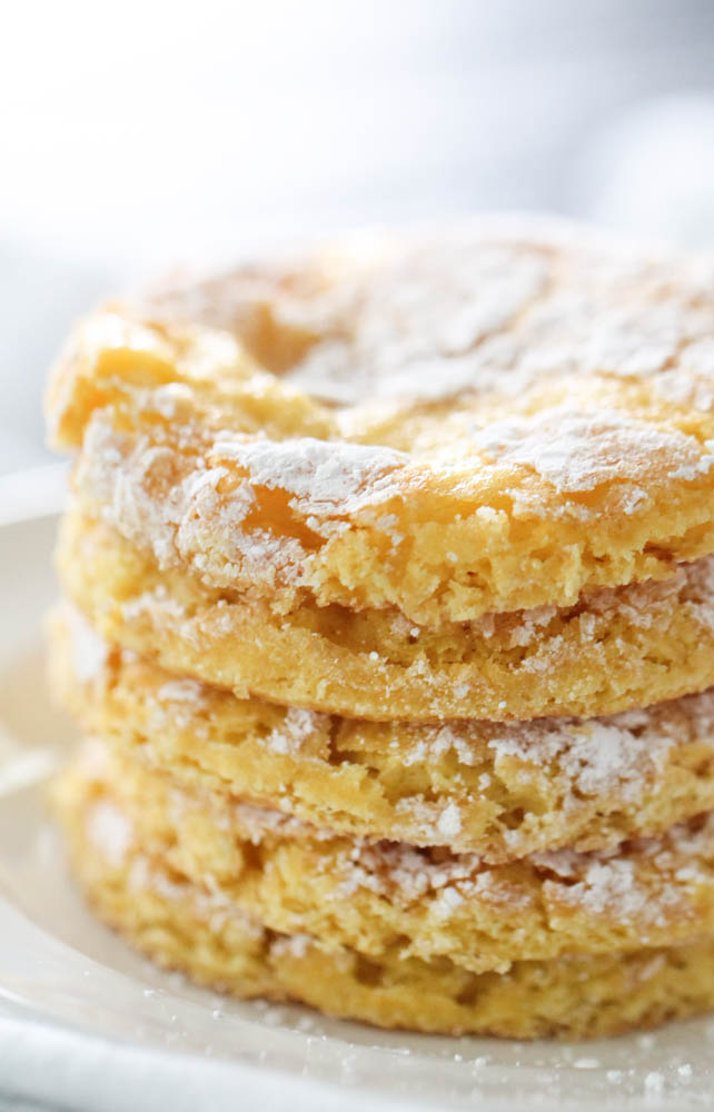 Lemon Cake Mix Cool Whip Cookies
