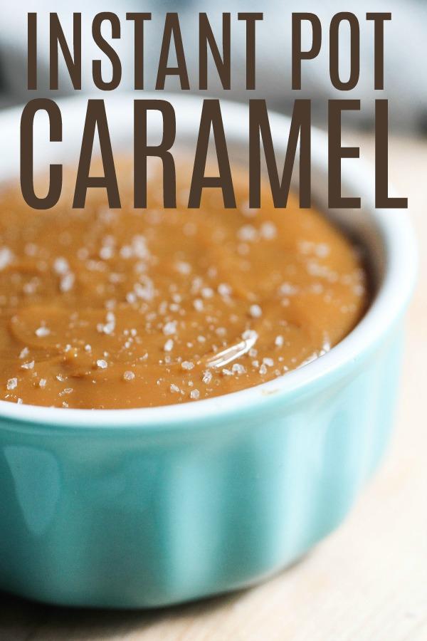 Instant Pot Dulce De Leche (Homemade Caramel)