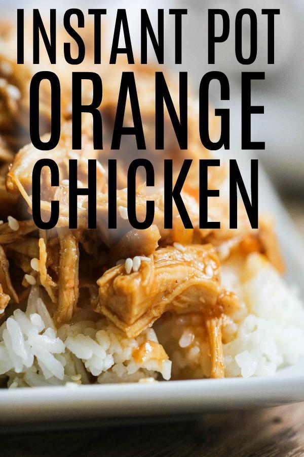 Instant Pot Orange Chicken Six Sisters Stuff