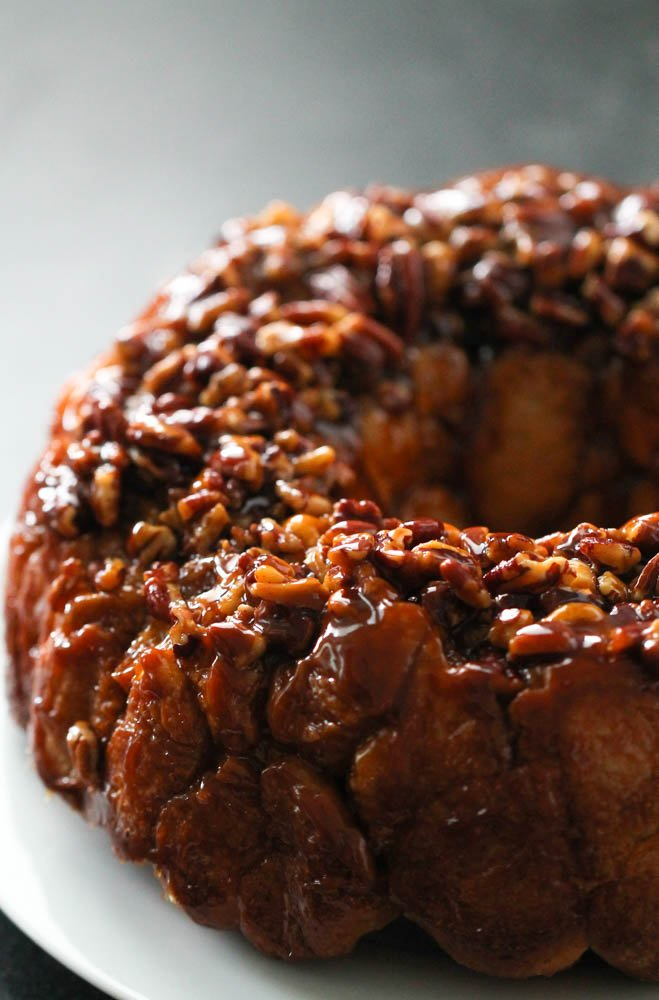 Caramel Monkey Bread Breakfast Pull Apart Recipe