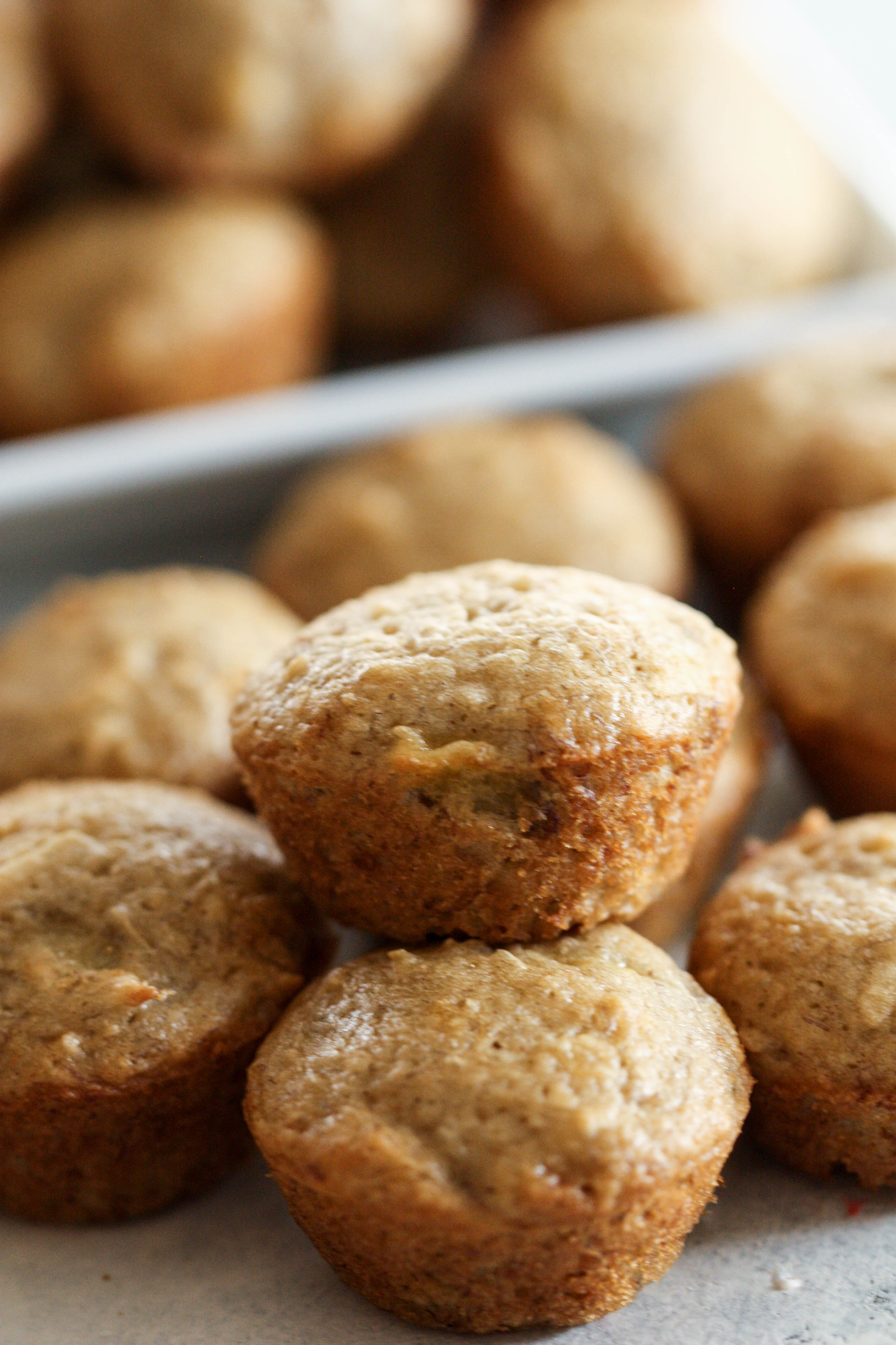 Coconut Banana Bread Muffins