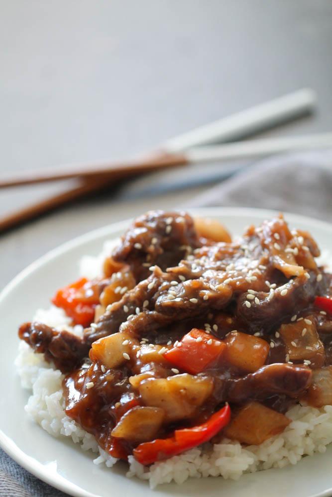 Slow Cooker Beijing Beef