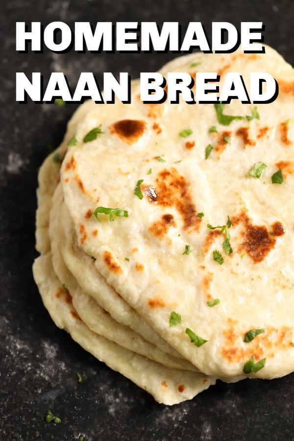 Easy Homemade Naan Bread Recipe