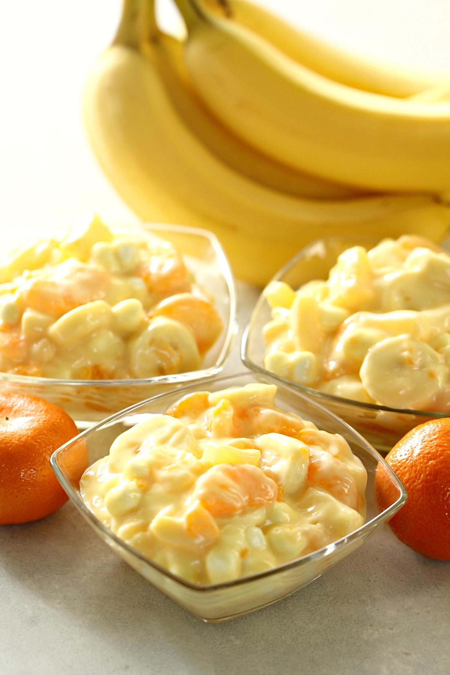 Orange Cream Yogurt Fruit Salad