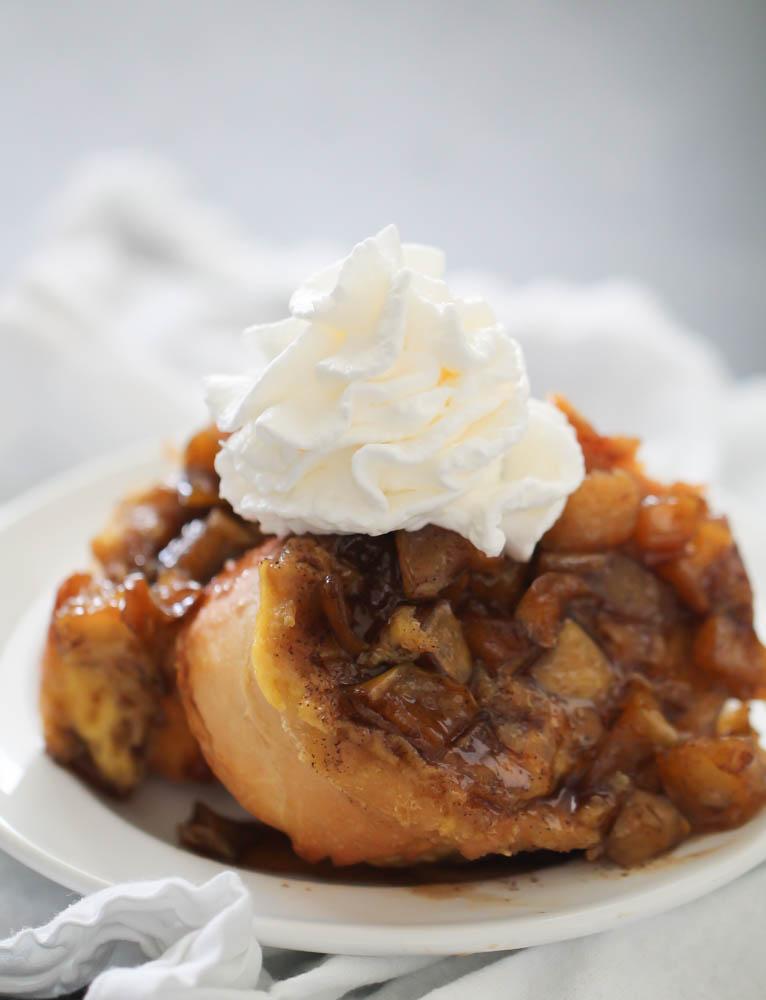 Overnight Apple French Toast Recipe