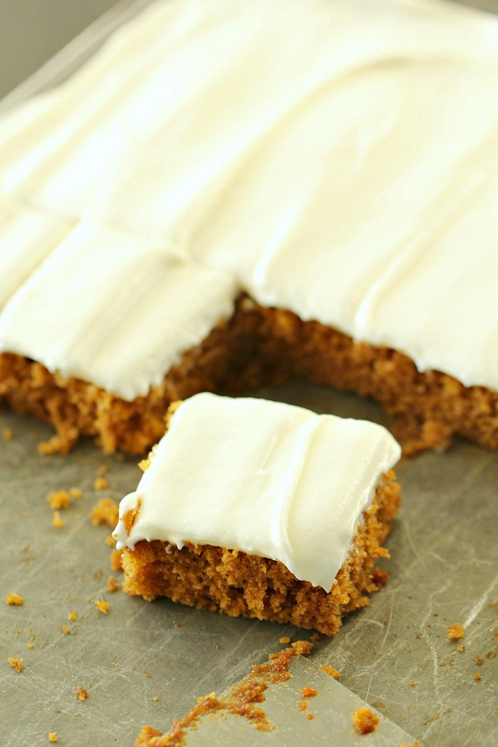 Sheet Pan Carrot Cake with Cream Cheese Frosting