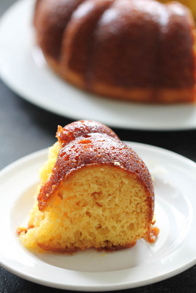 Citrus Glazed Bundt Cake