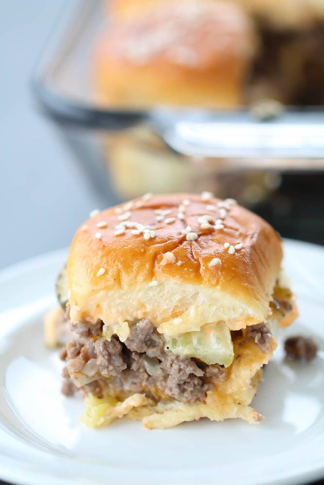 Big Mac Sliders Recipe