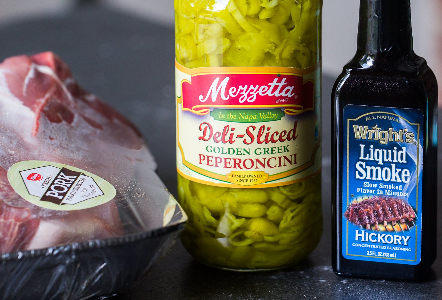 Ingredients to make Instant Pot Kalua Pork Roast Recipe