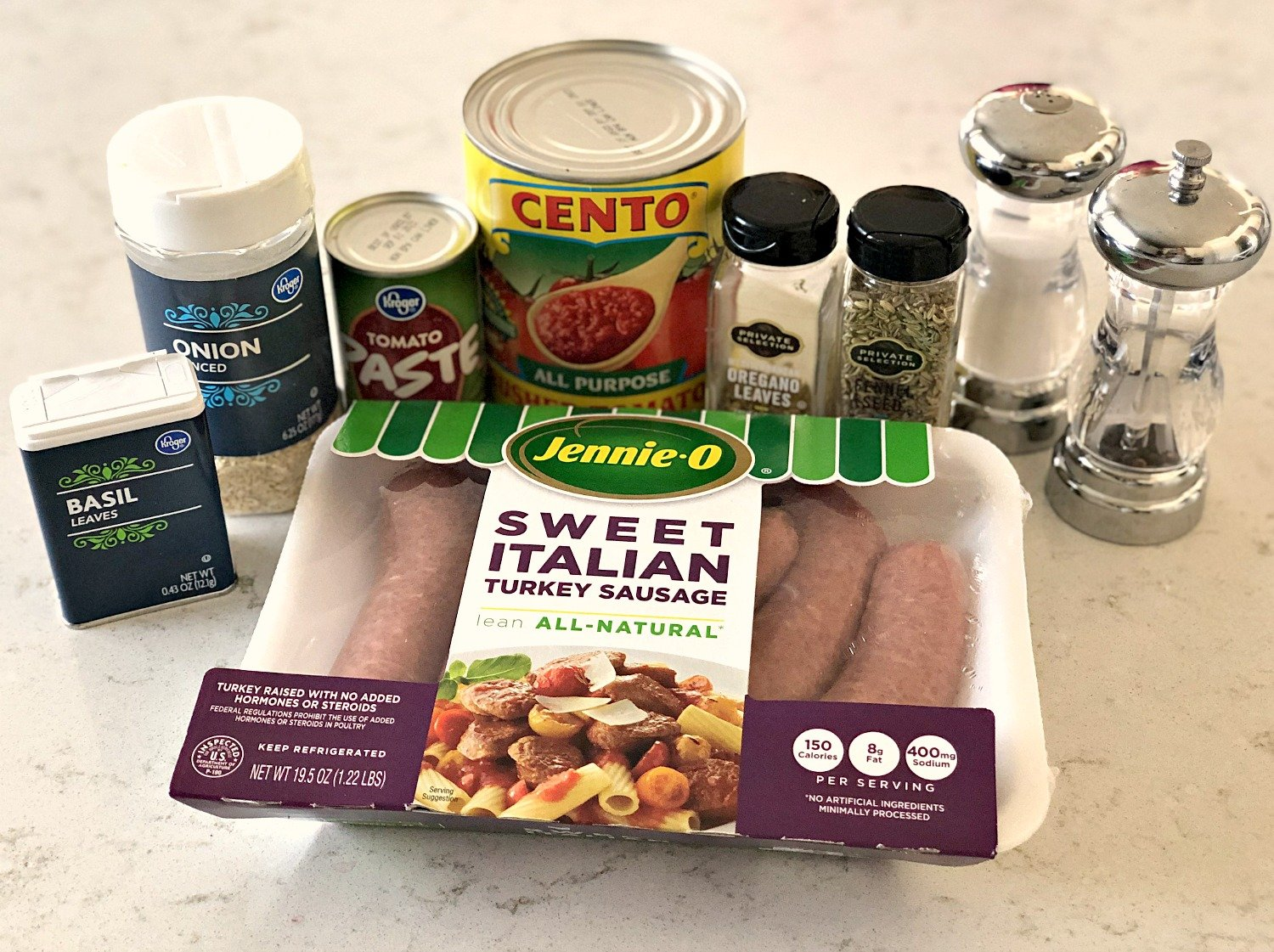 ingredients in instant pot bolognese