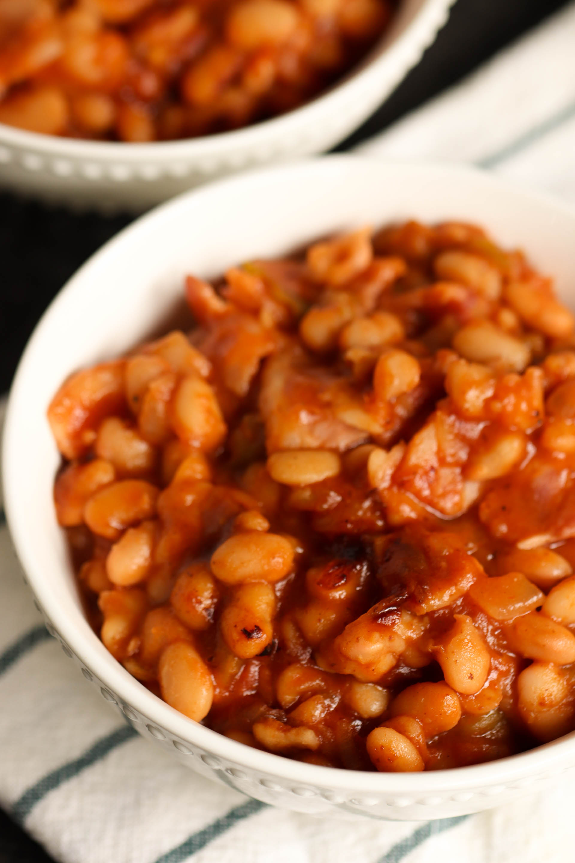 Instant Pot Sweet and Spicy BBQ Beans