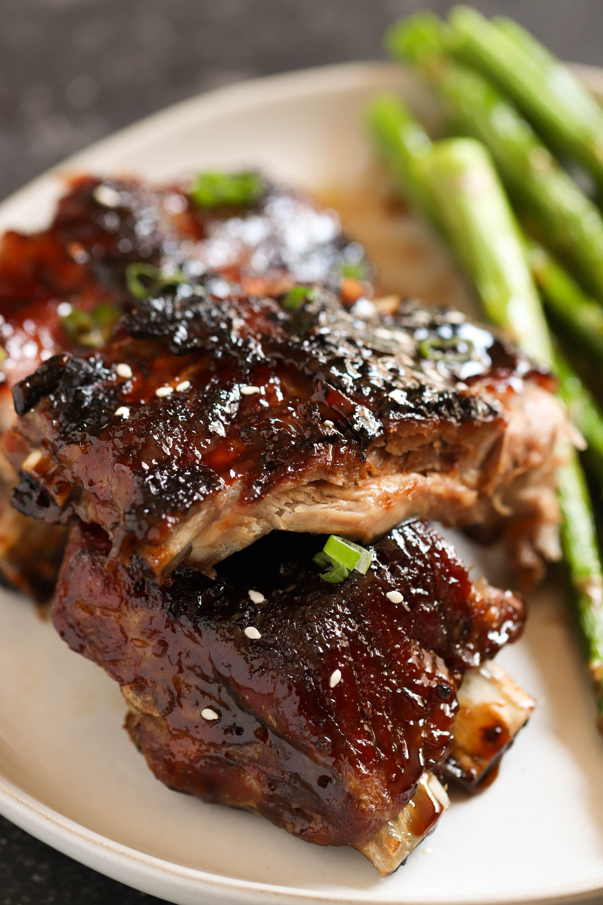 Sticky Asian Ribs (in the OVEN) Recipe