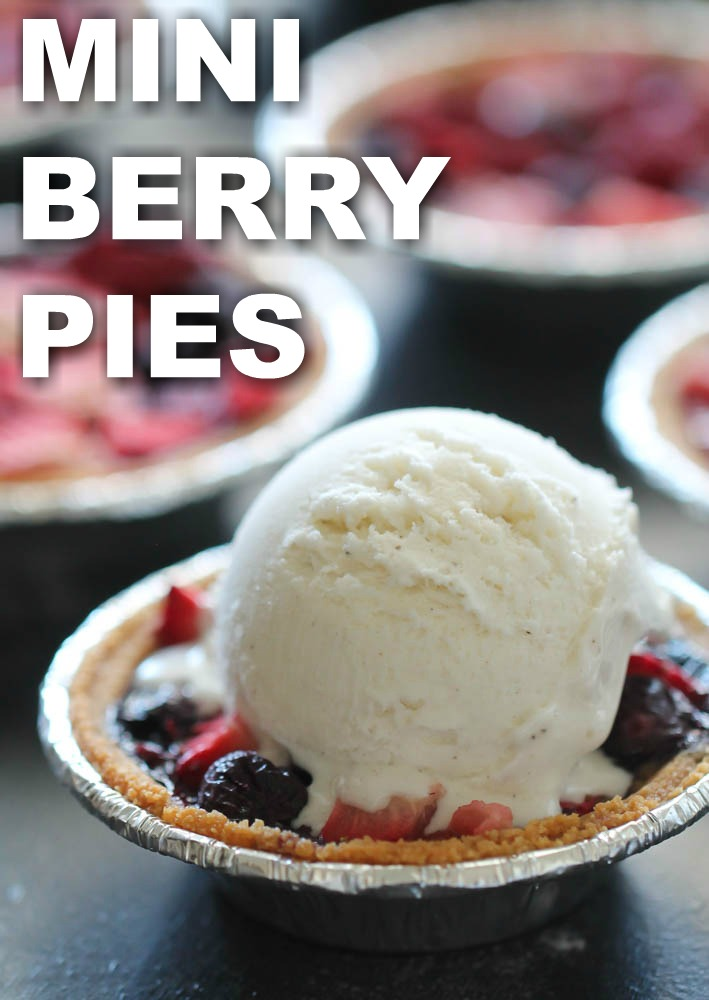 Mini Berry Pies Six Sisters Stuff