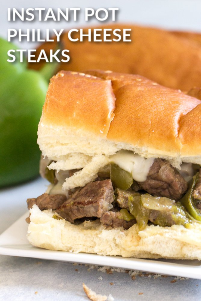 Instant Pot Philly Cheese Steaks