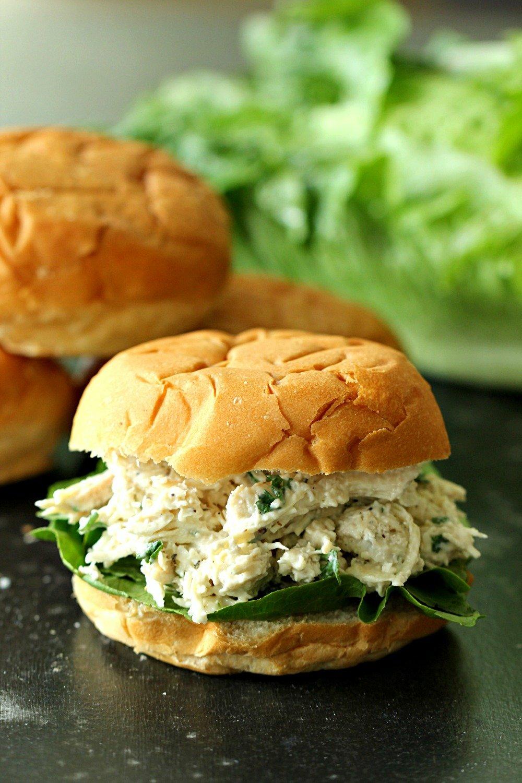 Instant Pot Chicken Caesar Sandwiches Recipe