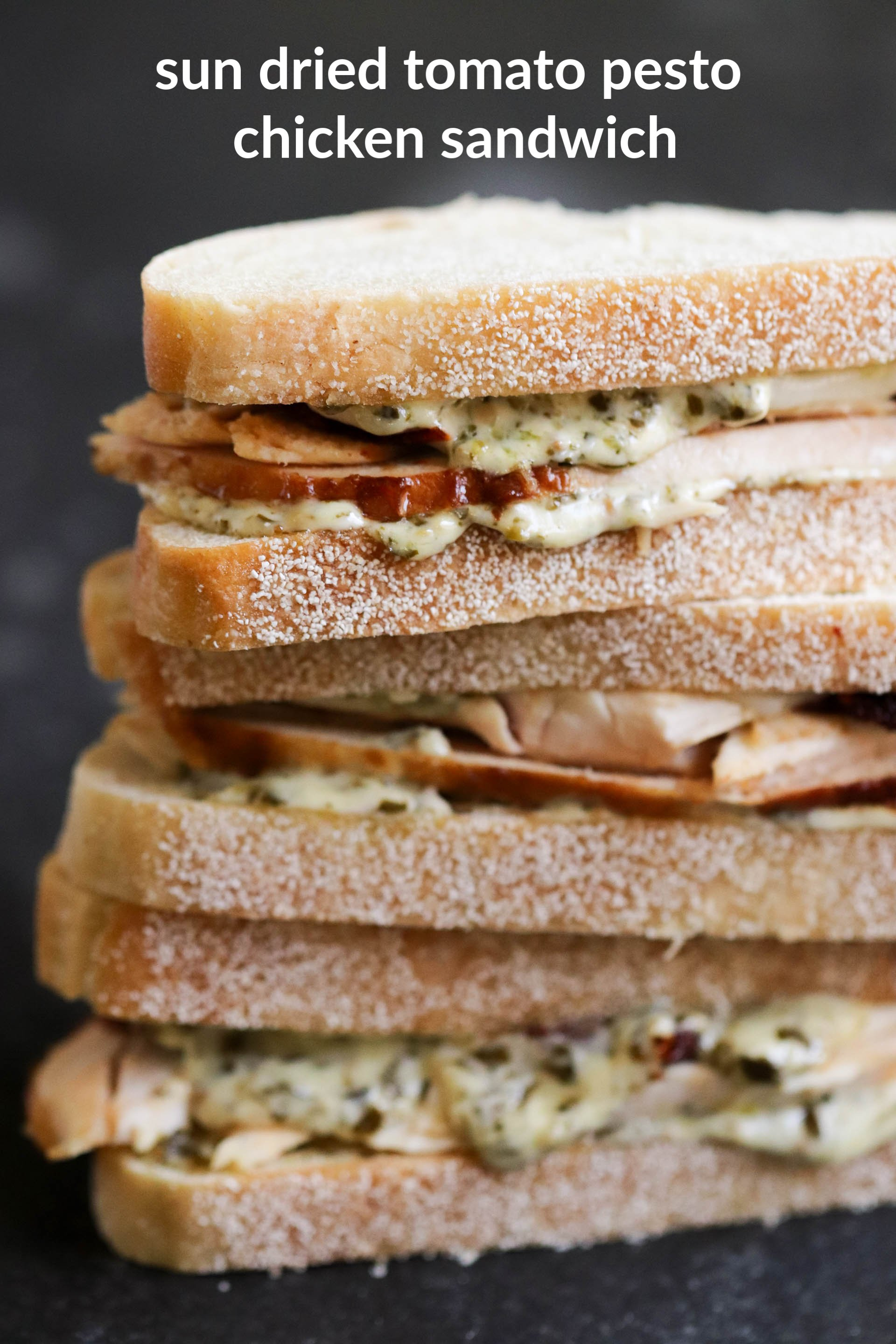 Pesto Chicken Sandwiches from Six Sisters' Stuff