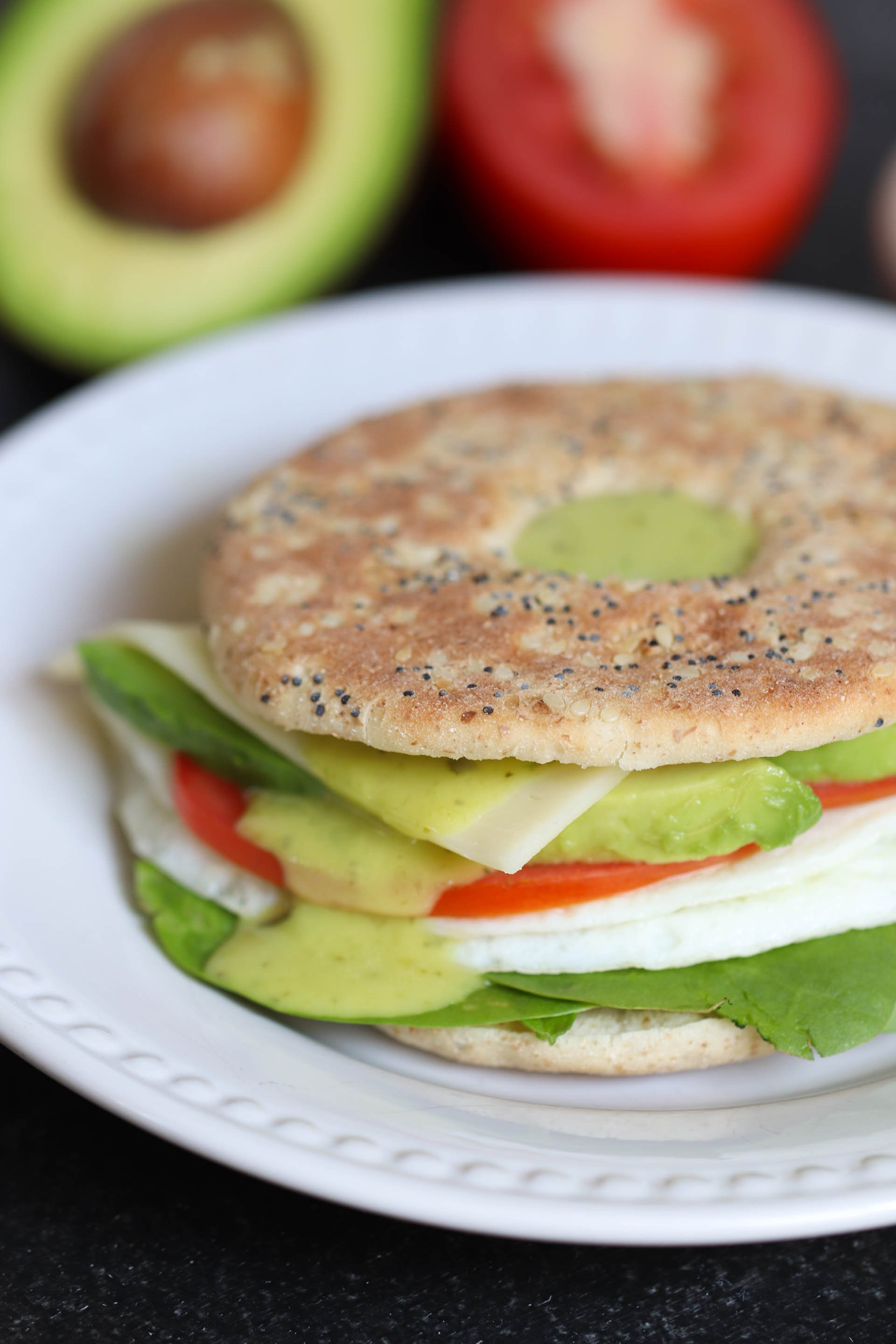 Egg White Breakfast Sandwich
