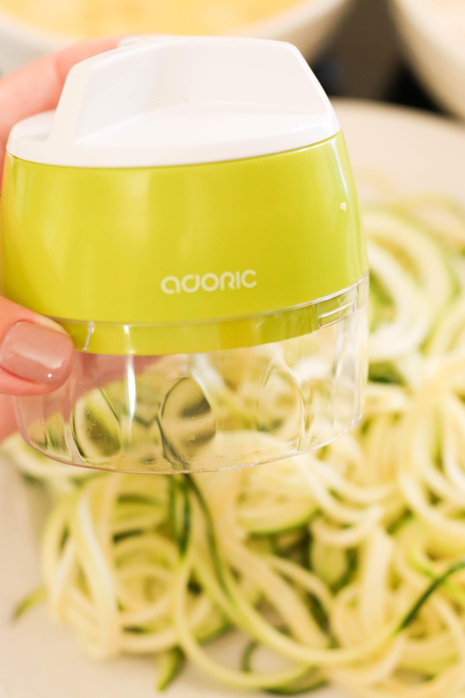 Little zucchini spiralizer