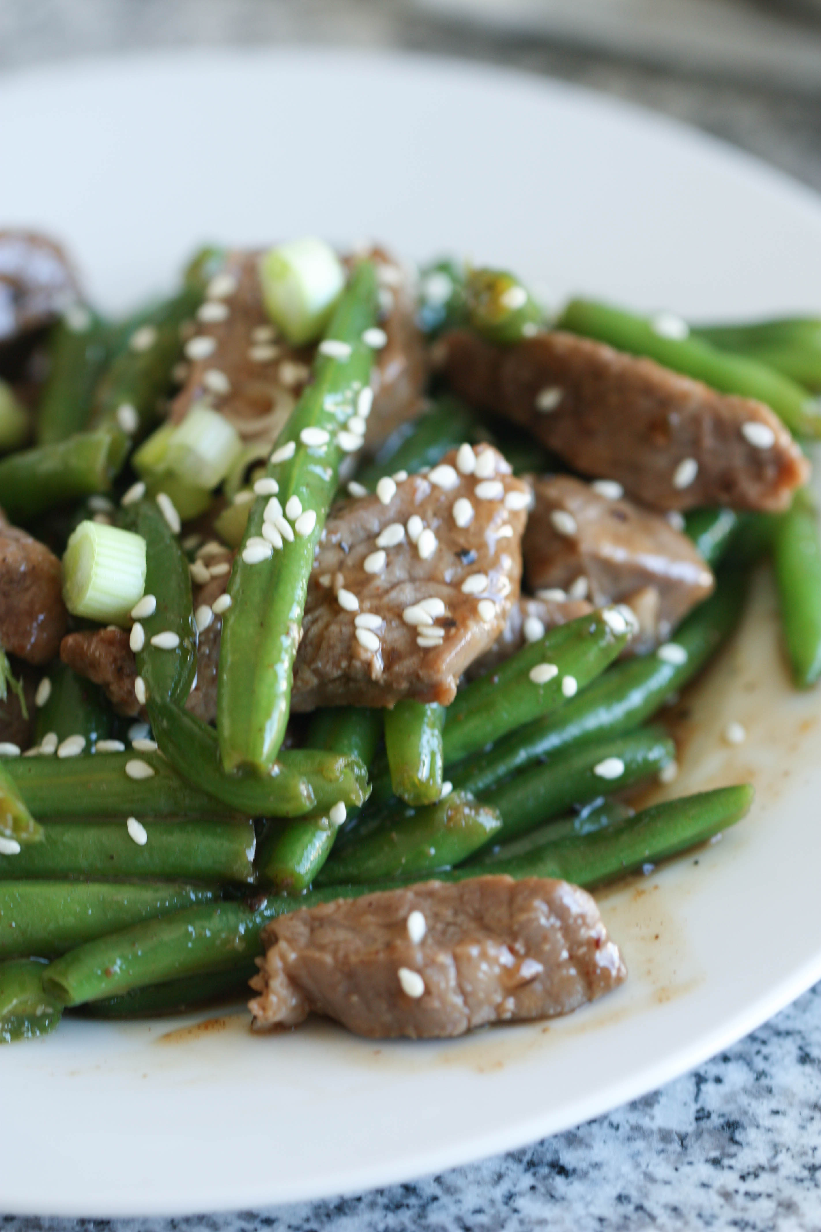 Beef and Bean Stir Fry