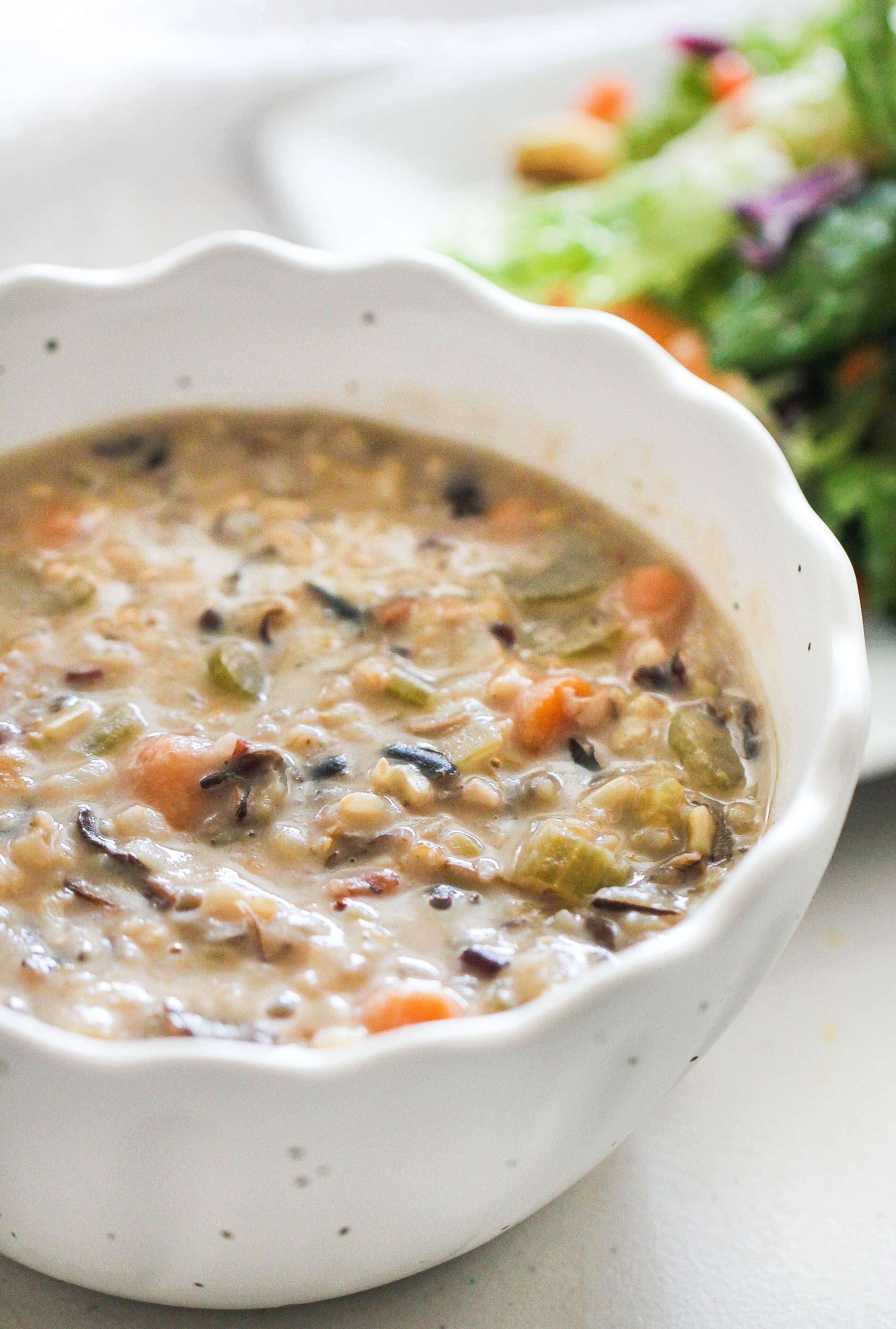 Instant Pot Wild Rice Soup Recipe