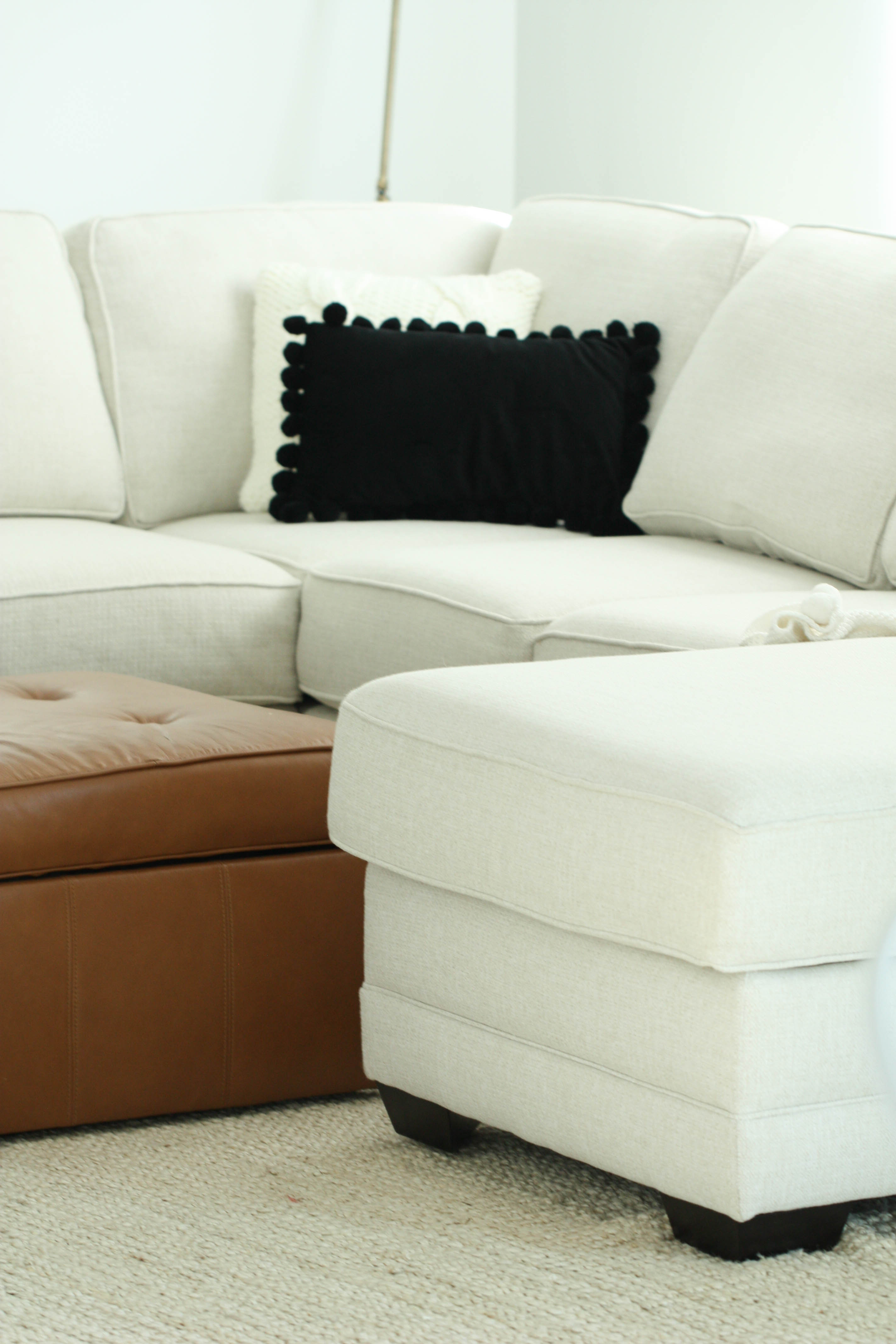 Living Room Makeover with Fisher Home Furnishings