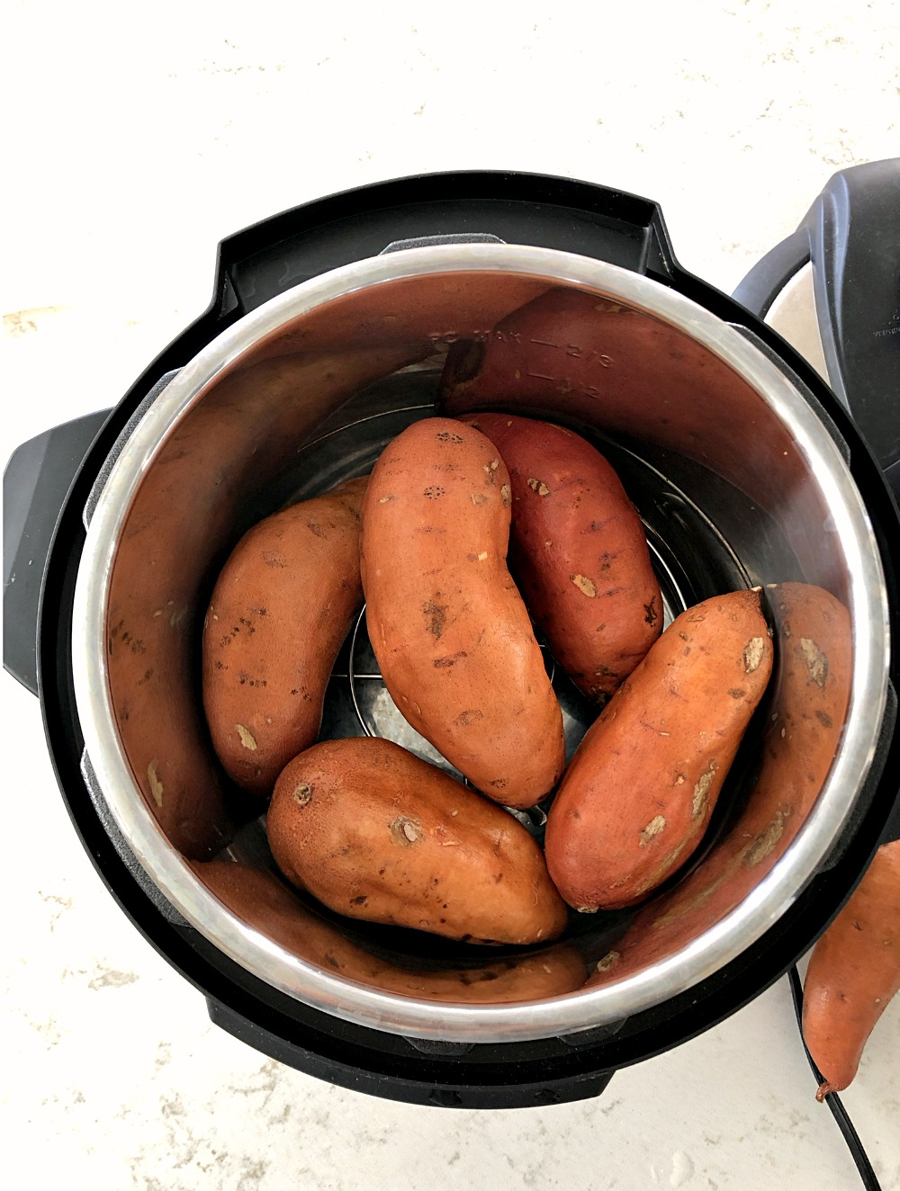 sweet potatoes in an instant pot on six sisters