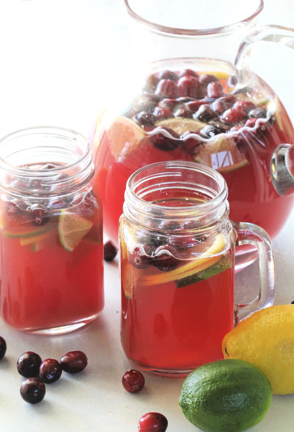 Cranberry Citrus Party Punch Recipe
