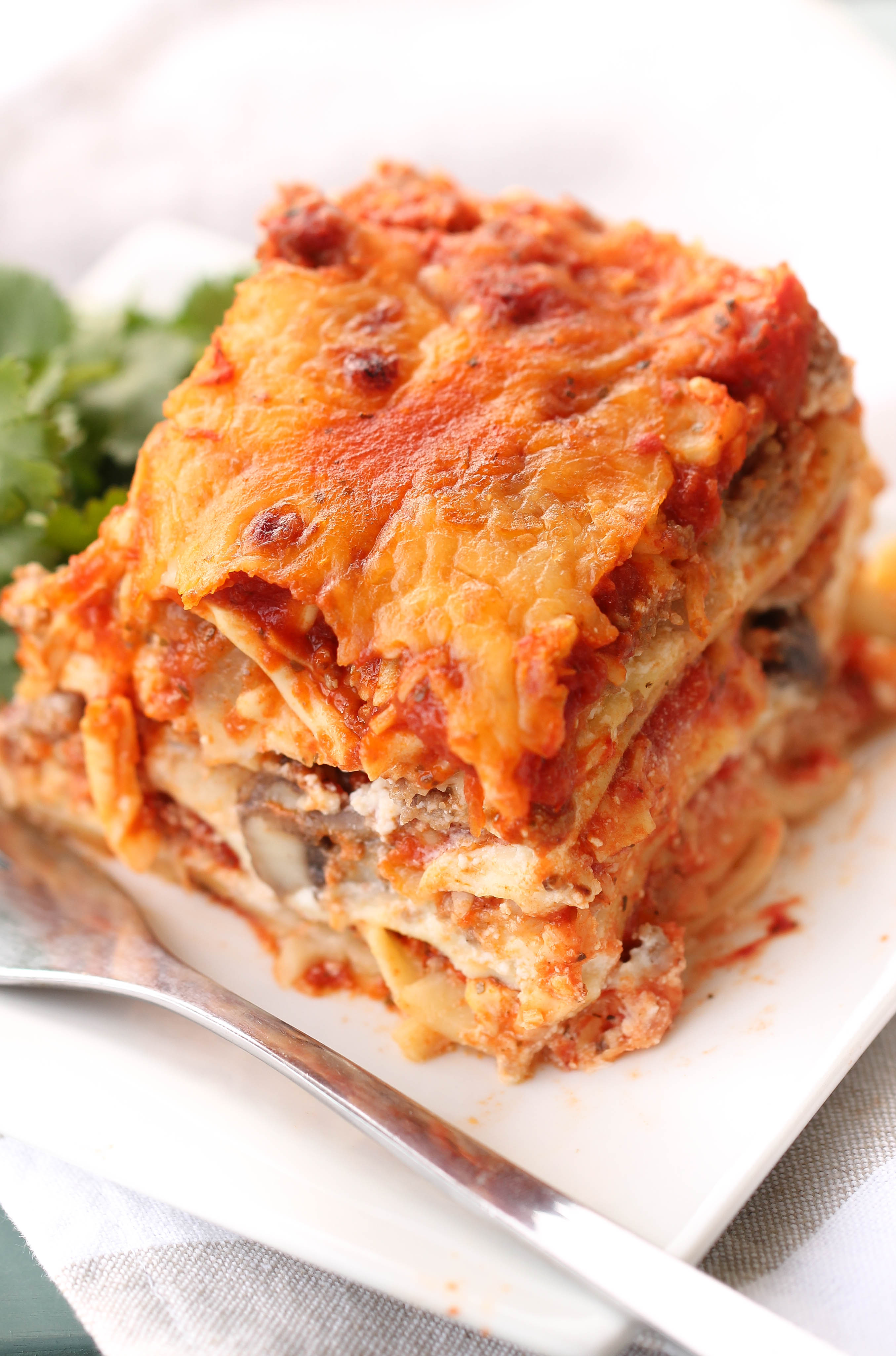 Instant Pot Lasagna with a Springform Pan