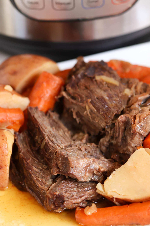 Easy Instant Pot Beef Pot Roast