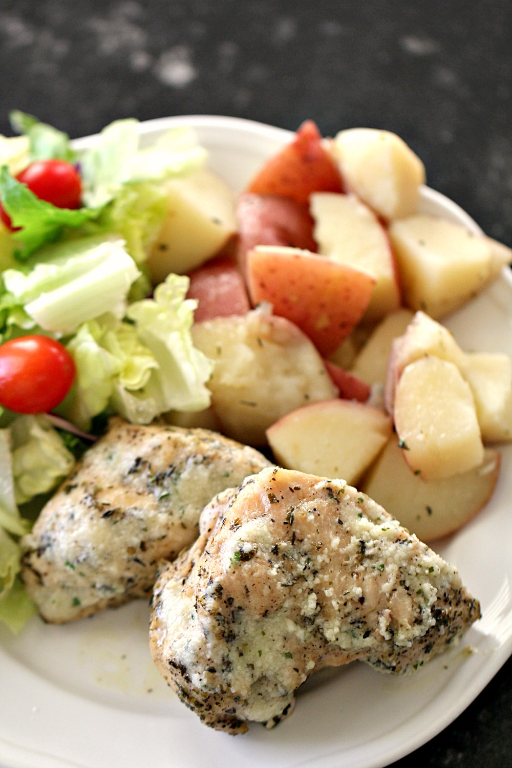 Instant Pot Parmesan Ranch Chicken and Potatoes Recipe