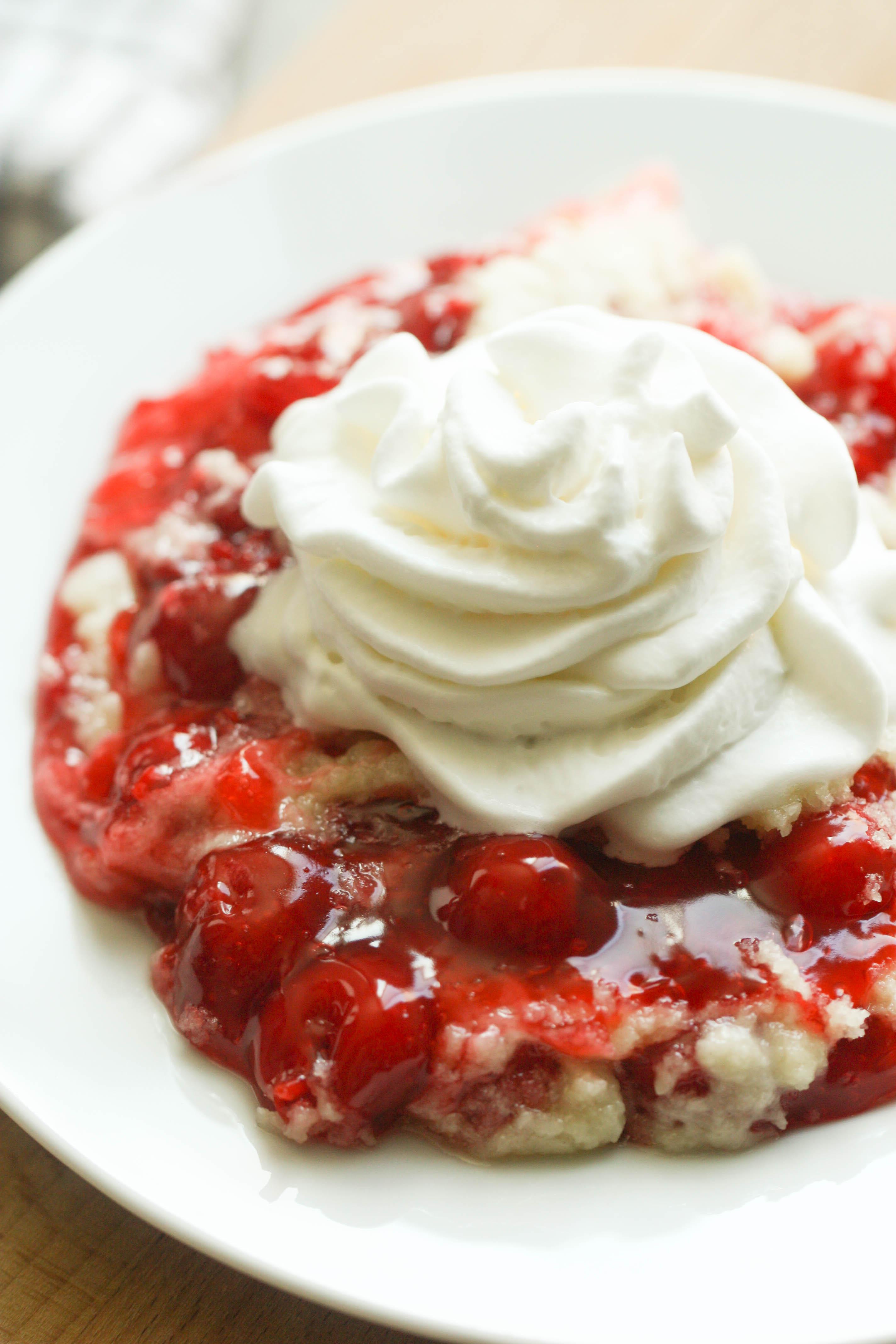 Instant Pot Cherry Dump Cake Recipe
