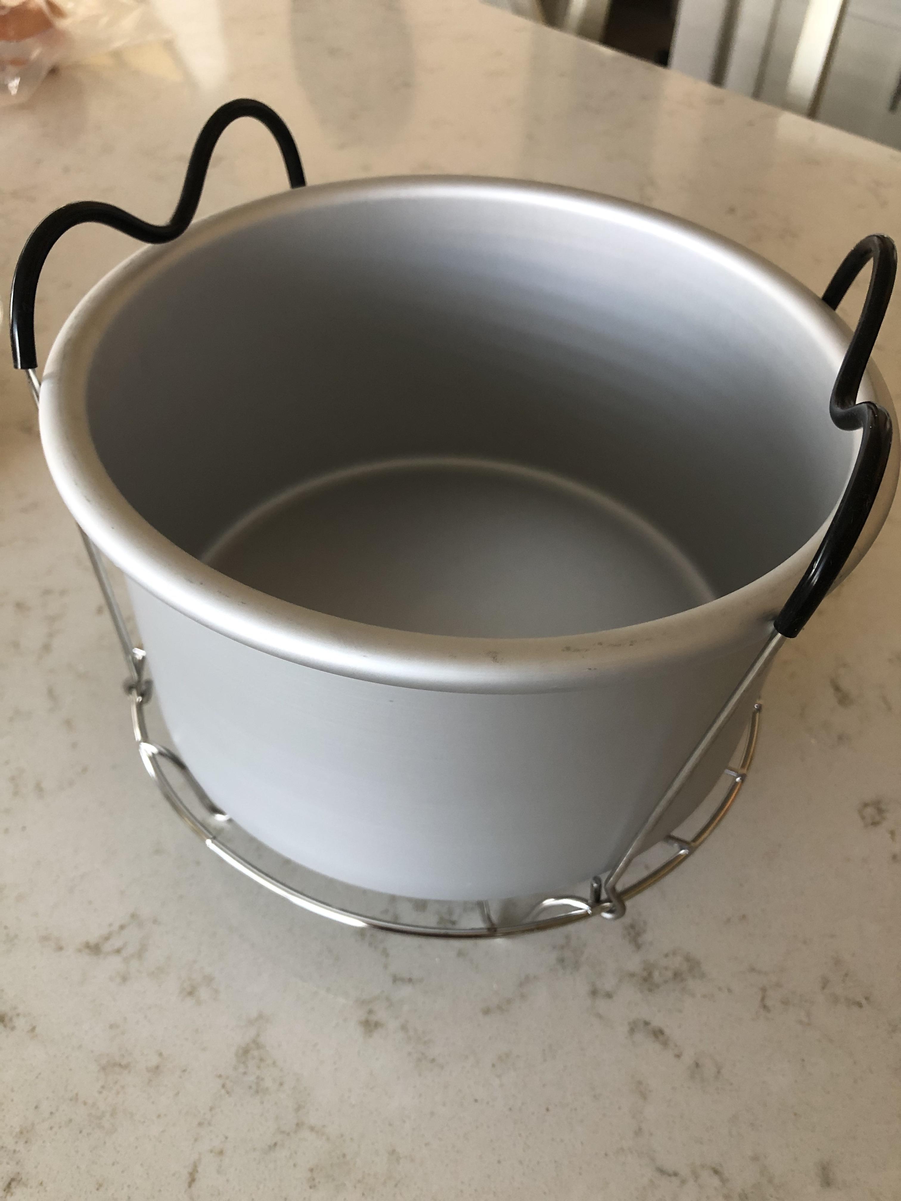 Instant pot on a trivet