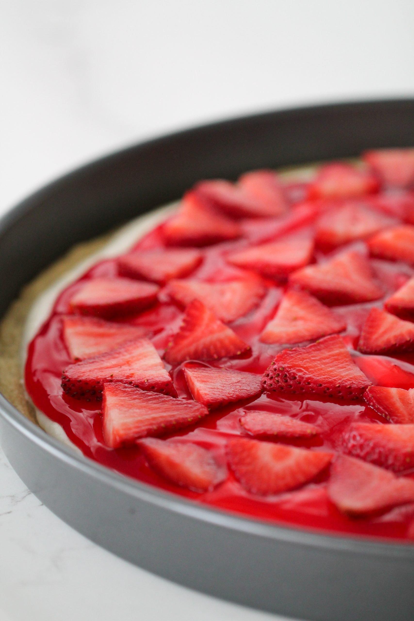 Strawberry Fruit Pizza Recipe