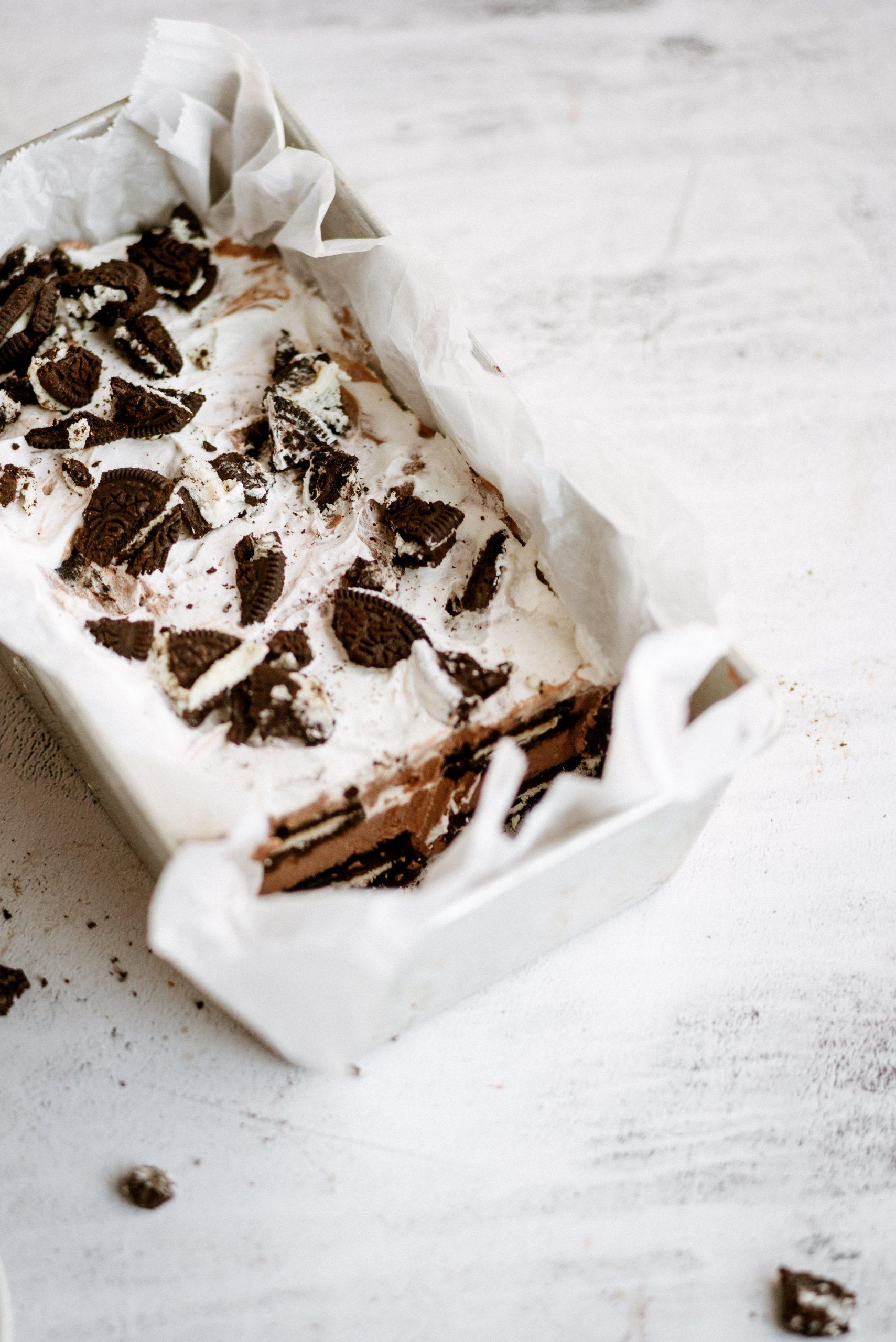 Oreo Ice Box Cake Recipe