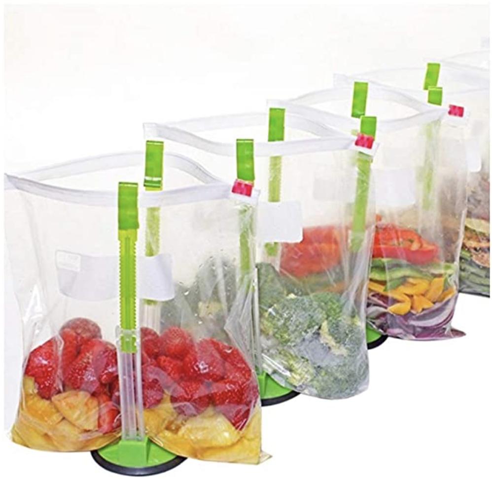 Freezer Meal Bag Holders
