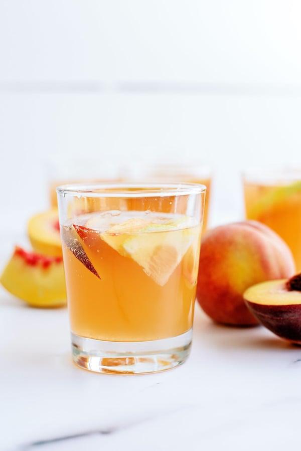 Sparkling Peach Punch Drink Recipe