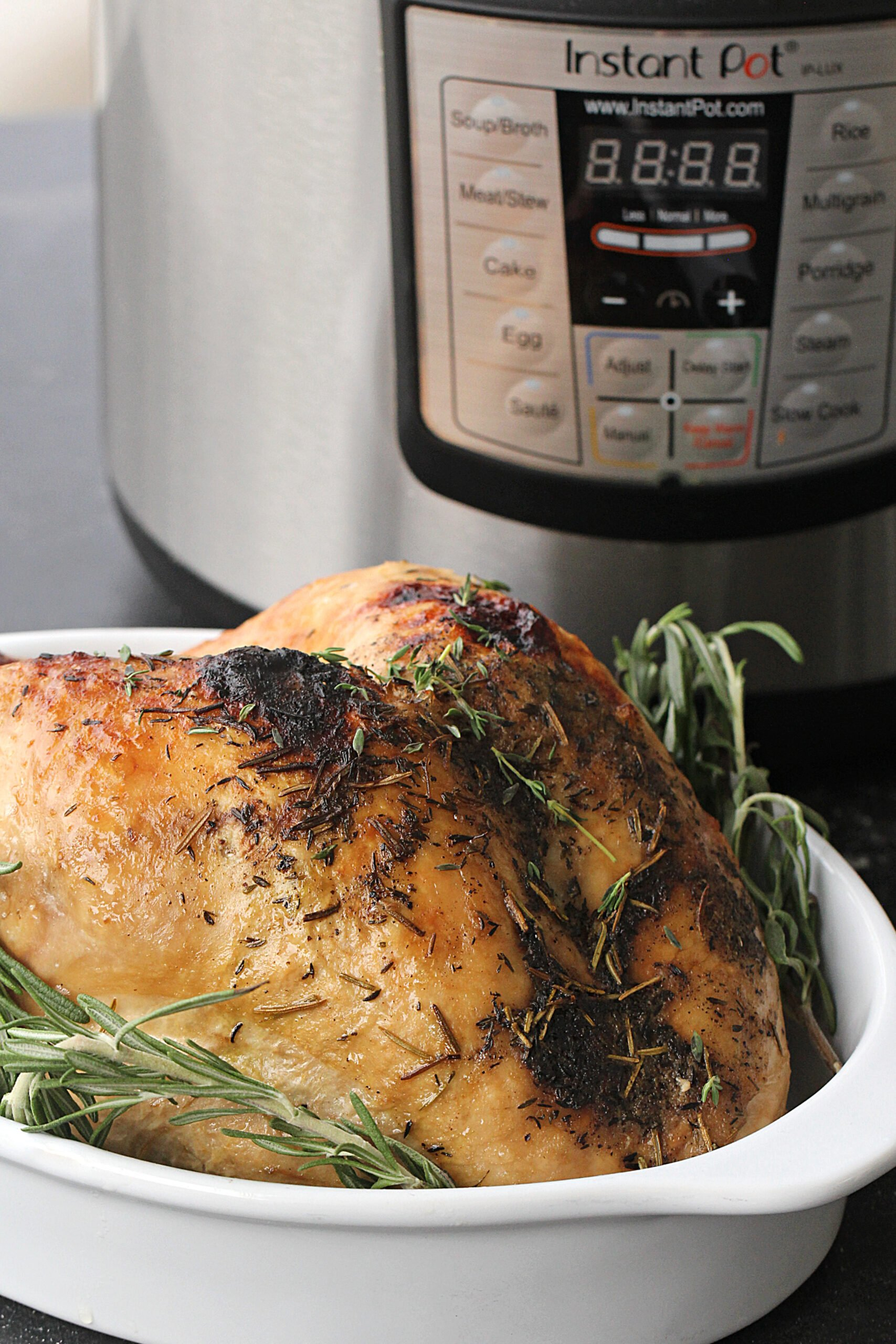 How to cook a turkey from frozen in the Instant Pot
