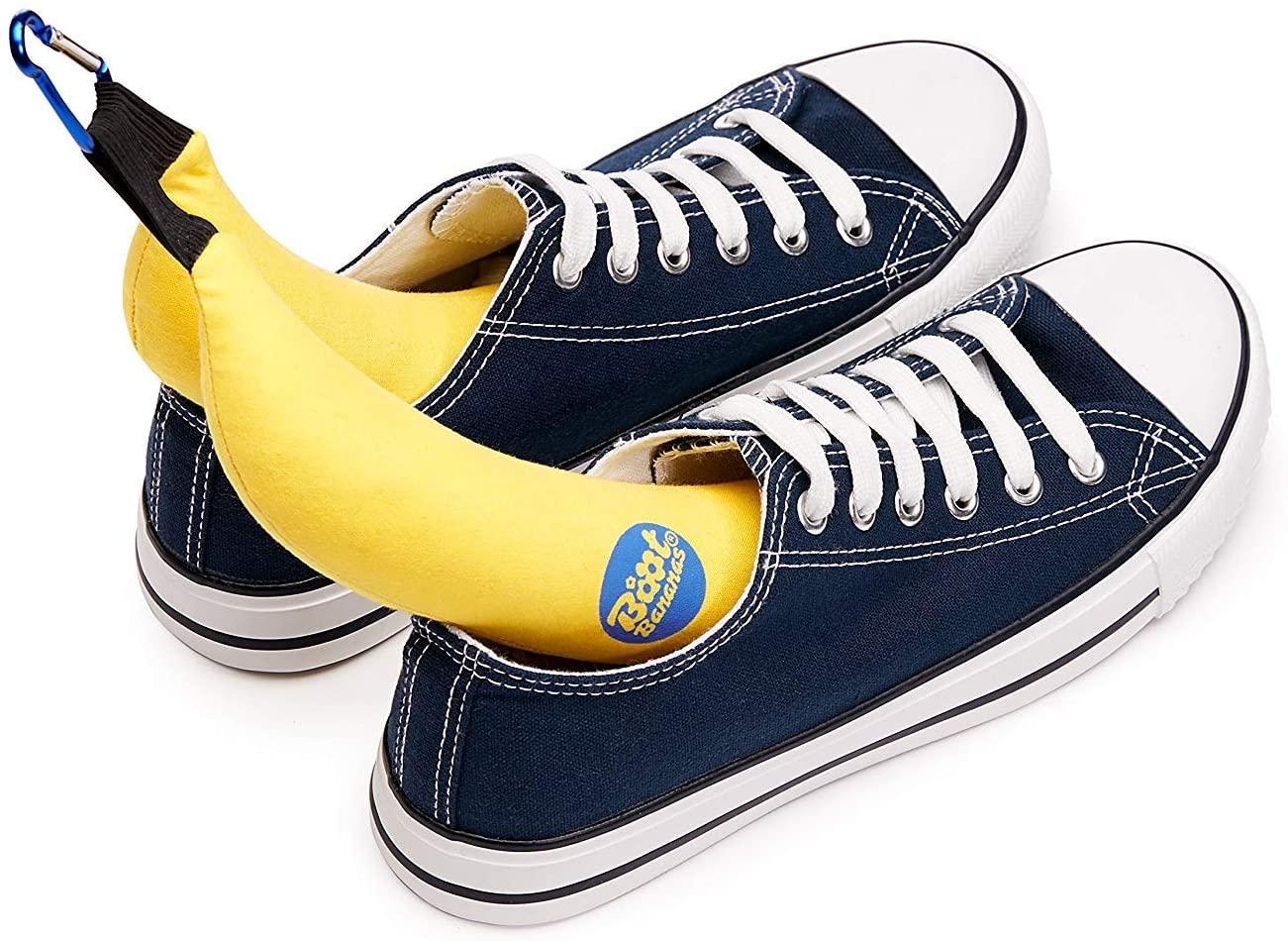 Banana shoe deodorizers