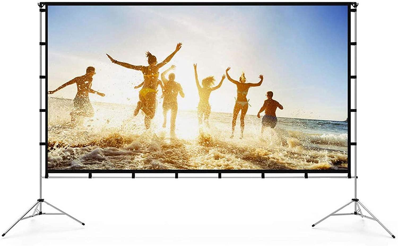 Indoor outdoor projector movie screen
