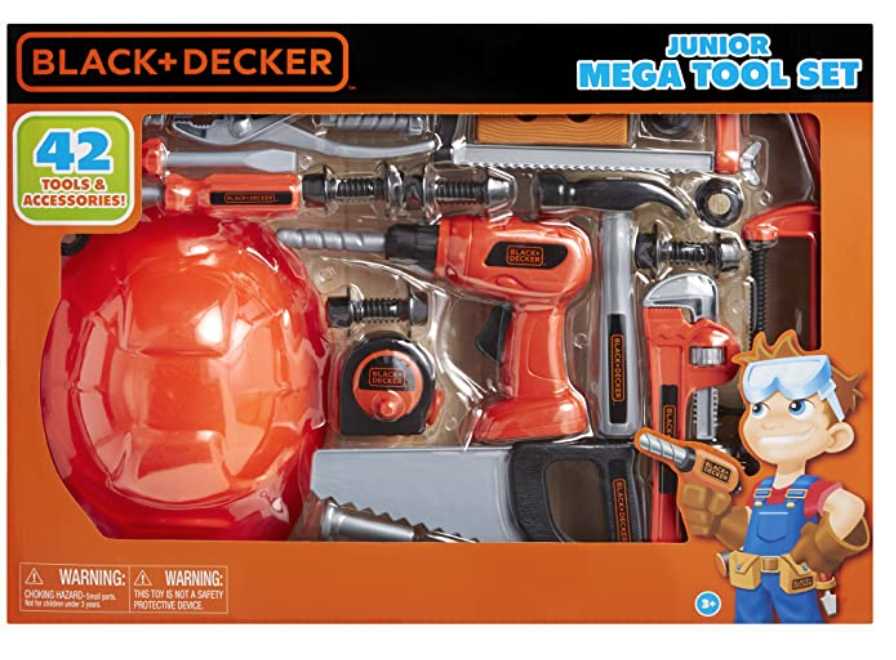 Black and Decker Toy Tool Set